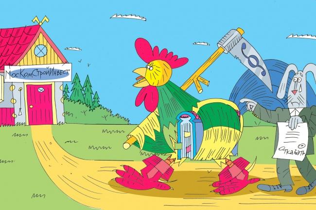 Оперативно нарисую юмористические иллюстрации для рекламной статьи 84 - kwork.ru