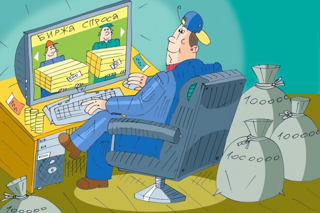 Оперативно нарисую юмористические иллюстрации для рекламной статьи 81 - kwork.ru