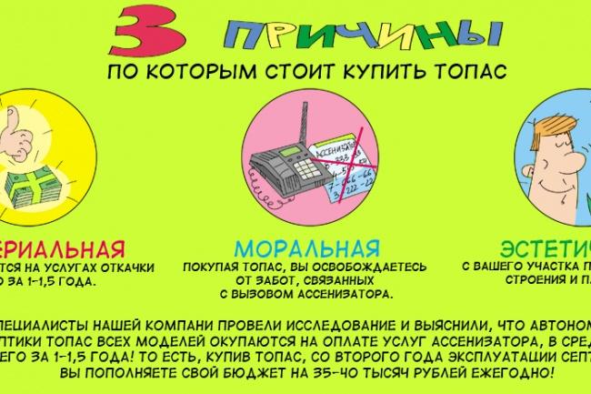 Оперативно нарисую юмористические иллюстрации для рекламной статьи 77 - kwork.ru