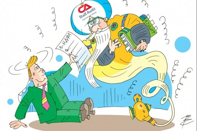 Оперативно нарисую юмористические иллюстрации для рекламной статьи 60 - kwork.ru