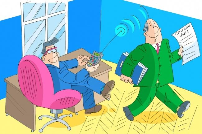 Оперативно нарисую юмористические иллюстрации для рекламной статьи 59 - kwork.ru