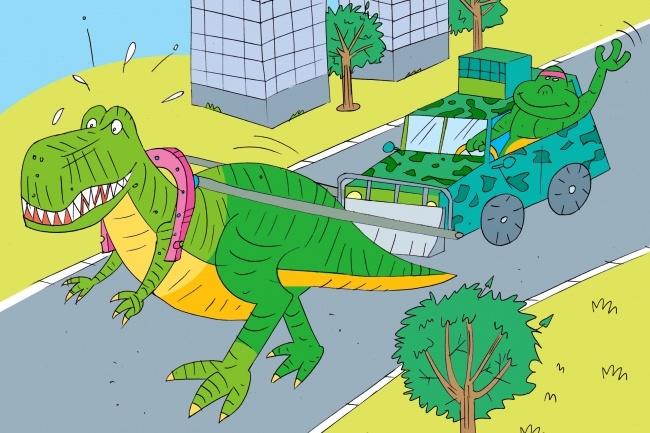 Оперативно нарисую юмористические иллюстрации для рекламной статьи 56 - kwork.ru