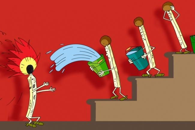 Оперативно нарисую юмористические иллюстрации для рекламной статьи 91 - kwork.ru