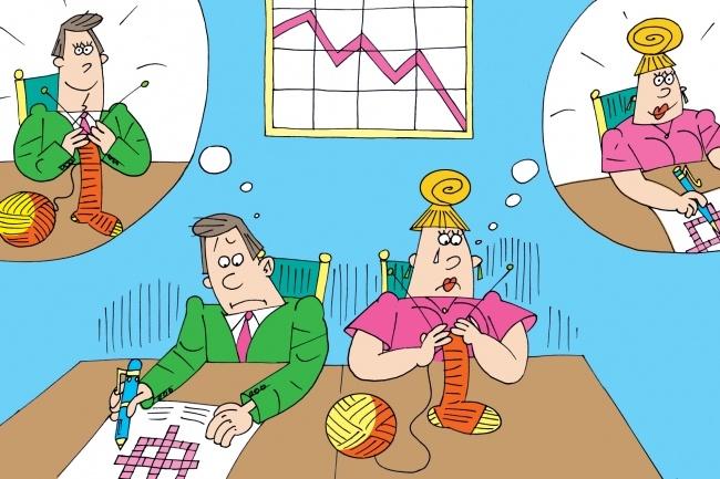 Оперативно нарисую юмористические иллюстрации для рекламной статьи 44 - kwork.ru