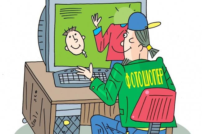 Оперативно нарисую юмористические иллюстрации для рекламной статьи 41 - kwork.ru