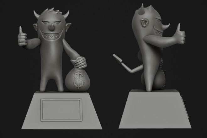 Создам 3D модель для печати или чпу 10 - kwork.ru