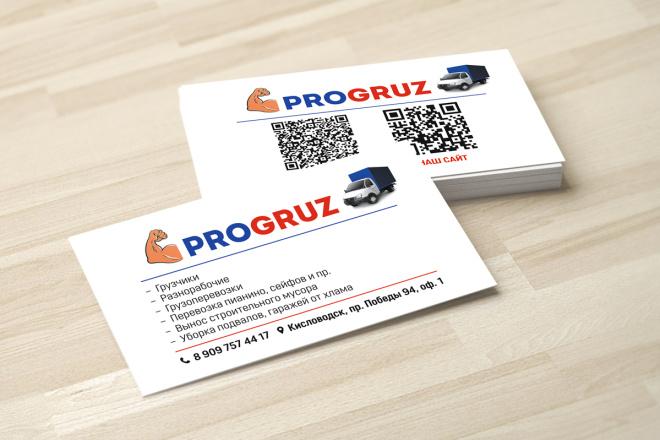 Дизайн визитки с исходниками 31 - kwork.ru