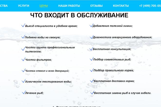 Создание сайта - Landing Page на Тильде 152 - kwork.ru
