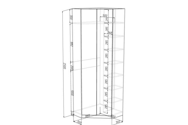 Конструкторская документация для изготовления мебели 43 - kwork.ru