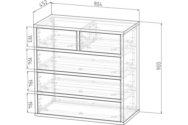 Конструкторская документация для изготовления мебели 116 - kwork.ru