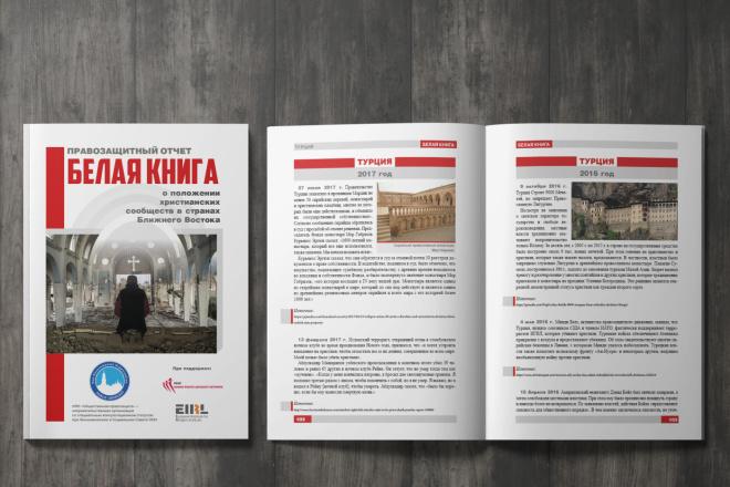 Верстка журнала, книги, каталога, меню 8 - kwork.ru