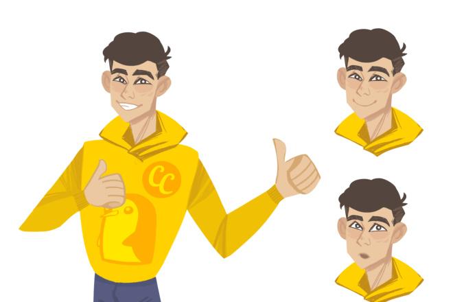Создание персонажа или маскота 1 - kwork.ru