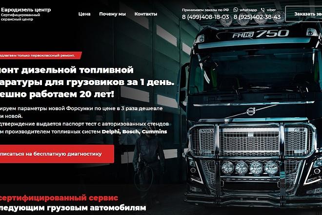Скопирую понравившейся Вам Landing Page под ключ 2 - kwork.ru