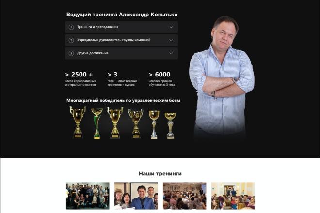Вёрстка сайтов по доступной цене 75 - kwork.ru