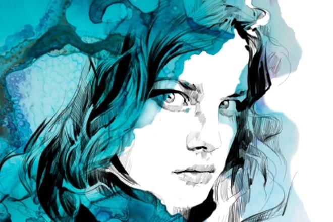 Творческий портрет в цифровом формате 2 - kwork.ru