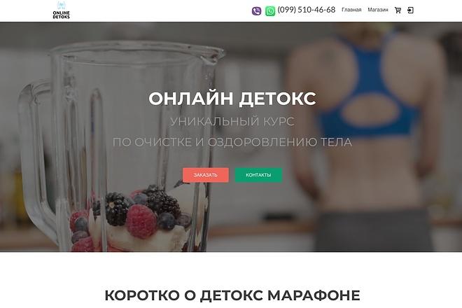 Создание одностраничника на Wordpress 68 - kwork.ru