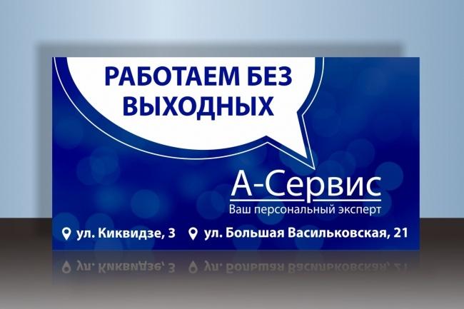 Сделаю запоминающийся баннер для сайта, на который захочется кликнуть 60 - kwork.ru