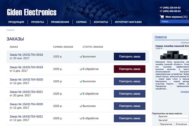 Вёрстка сайтов по доступной цене 189 - kwork.ru