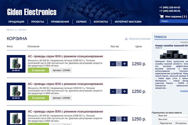 Вёрстка сайтов по доступной цене 187 - kwork.ru