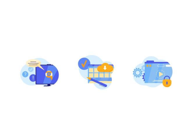 Иллюстрация под разные задачи 2 - kwork.ru