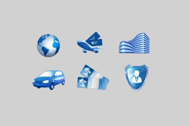 Иконки для сайта или социальных сетей 1 - kwork.ru