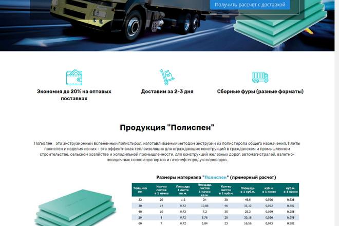 Разработка Landing page LPmotor 13 - kwork.ru