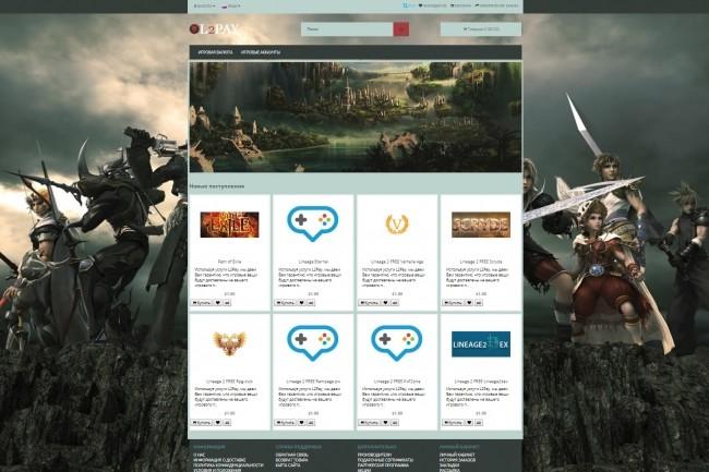 Создание проф. адаптивного интернет магазина на платном шаблоне WP 5 - kwork.ru
