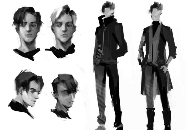 Концепт арт и Дизайн персонажа 7 - kwork.ru