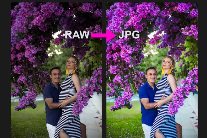 Для проф. фотографов - конвертация фото из RAW в JPG, 100 штук 13 - kwork.ru