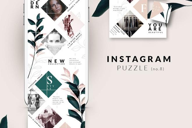 25000 шаблонов для Instagram, Вконтакте и Facebook + жирный Бонус 28 - kwork.ru