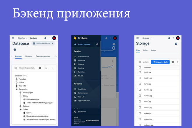Создание мобильного приложения с сервером для вашего бизнеса 6 - kwork.ru