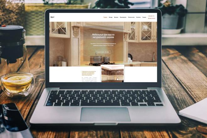 Создание сайта под ключ. CMS WordPress. Platforma LP 7 - kwork.ru
