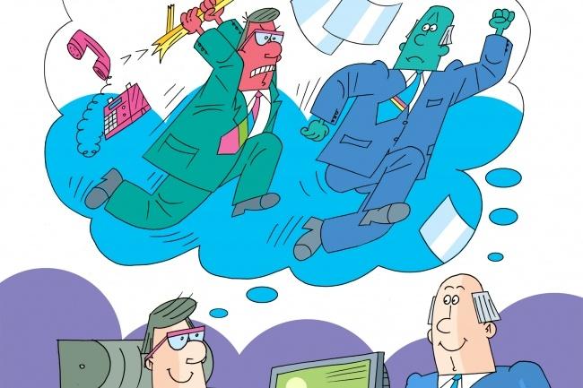 Нарисую стрип для газеты, журнала, блога, сайта или рекламы 15 - kwork.ru