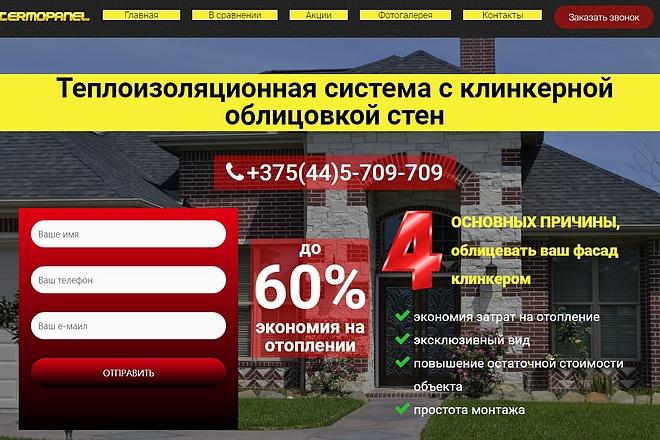Создам лендинг на вордпресс быстро 12 - kwork.ru