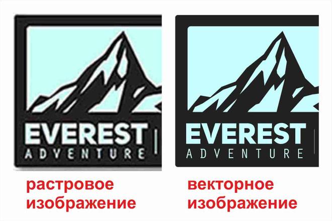 Перевод растрового изображения в вектор 3 - kwork.ru