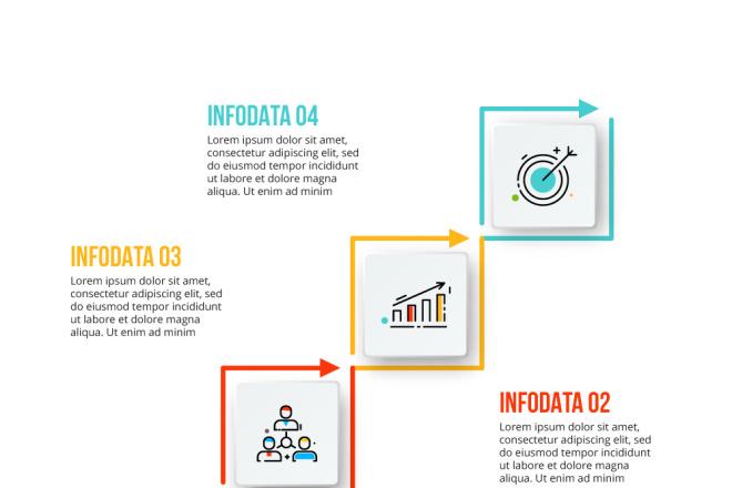 Набор инфографики. 13 тематик, 800 шаблонов, 2 пакета иконок 24 - kwork.ru