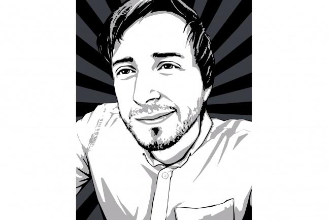 Качественный поп-арт портрет по вашей фотографии 48 - kwork.ru