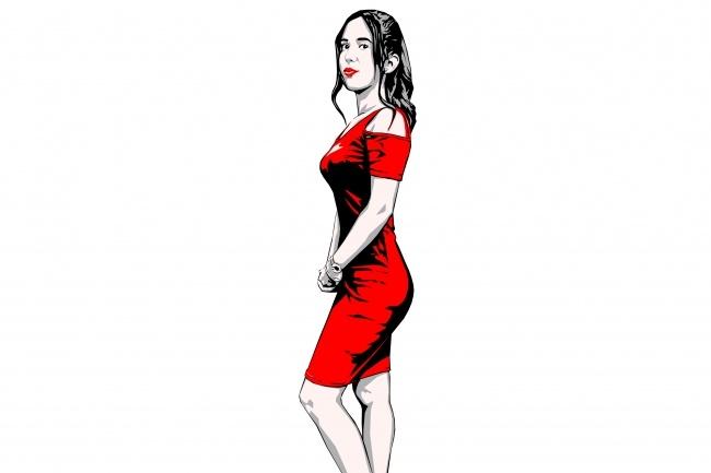 Качественный поп-арт портрет по вашей фотографии 42 - kwork.ru