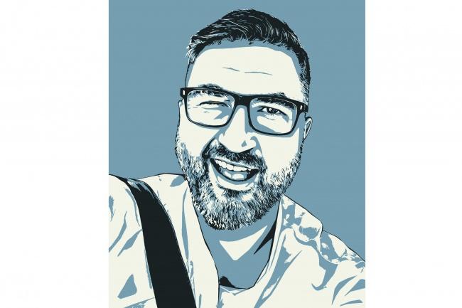Качественный поп-арт портрет по вашей фотографии 53 - kwork.ru