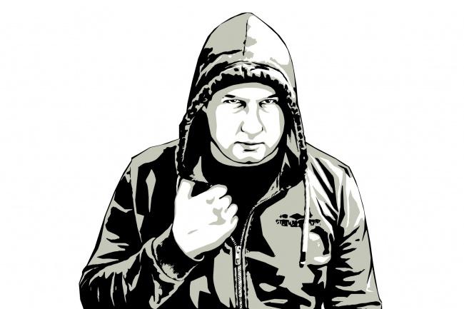 Качественный поп-арт портрет по вашей фотографии 52 - kwork.ru