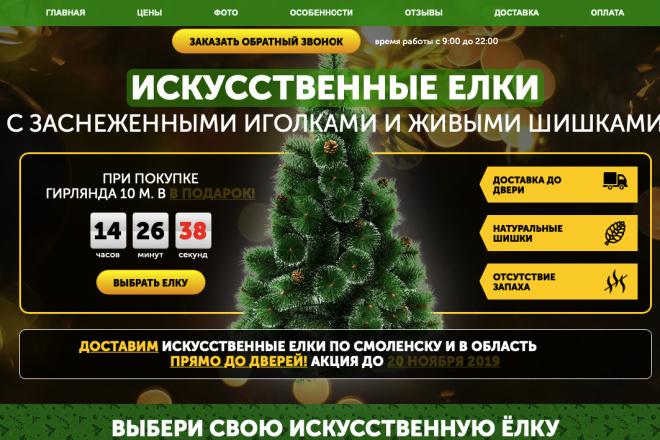 Скопирую Landing page, одностраничный сайт и установлю редактор 53 - kwork.ru