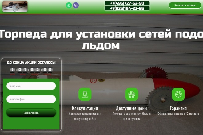 Создам лендинг на вордпресс быстро 7 - kwork.ru