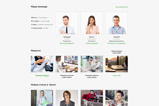 Дизайн любой страницы сайта + бонусы 72 - kwork.ru