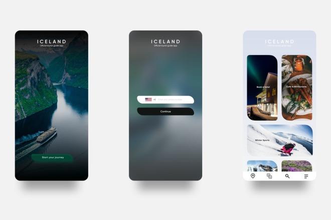Разработка дизайна для вашего мобильного приложения 6 - kwork.ru