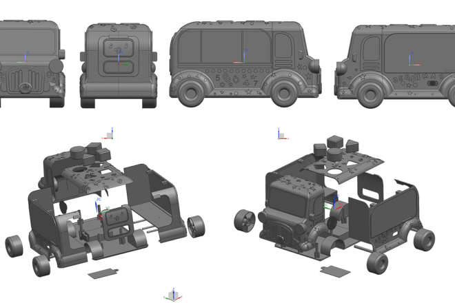 3D модели. Визуализация. Анимация 112 - kwork.ru