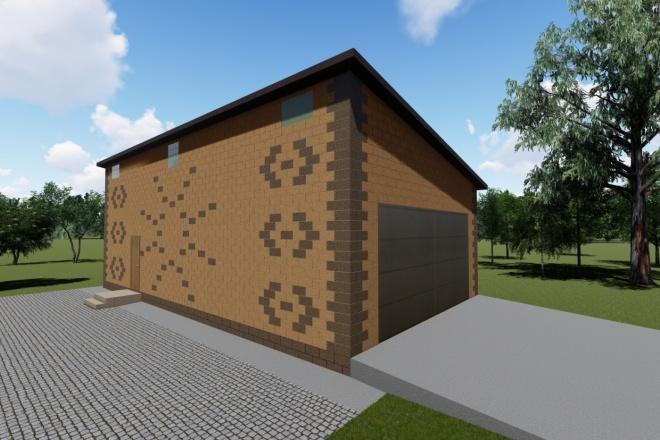 Визуализация экстерьера, фасадов здания 29 - kwork.ru