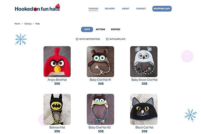 Качественный дизайн интернет-магазина 7 - kwork.ru