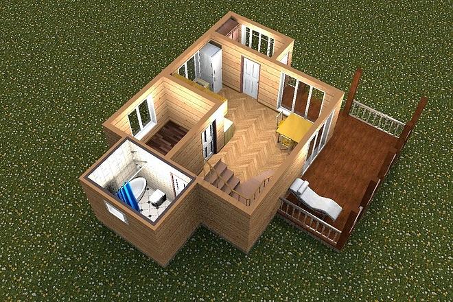 3D визуализация помещений 16 - kwork.ru