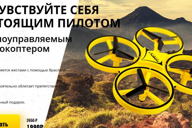 Скопирую страницу любой landing page с установкой панели управления 31 - kwork.ru