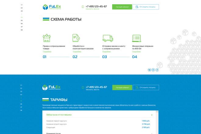 Дизайн страницы Landing Page - Профессионально 28 - kwork.ru